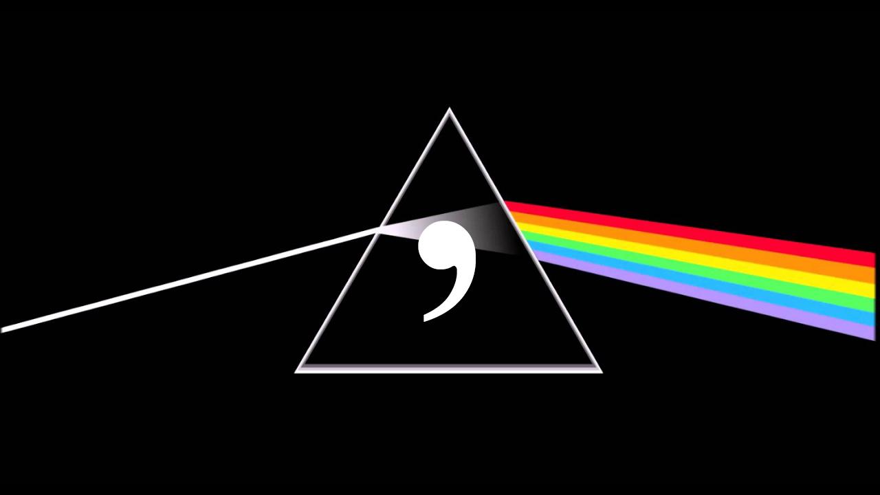 Pink Floyd y la coma del vocativo