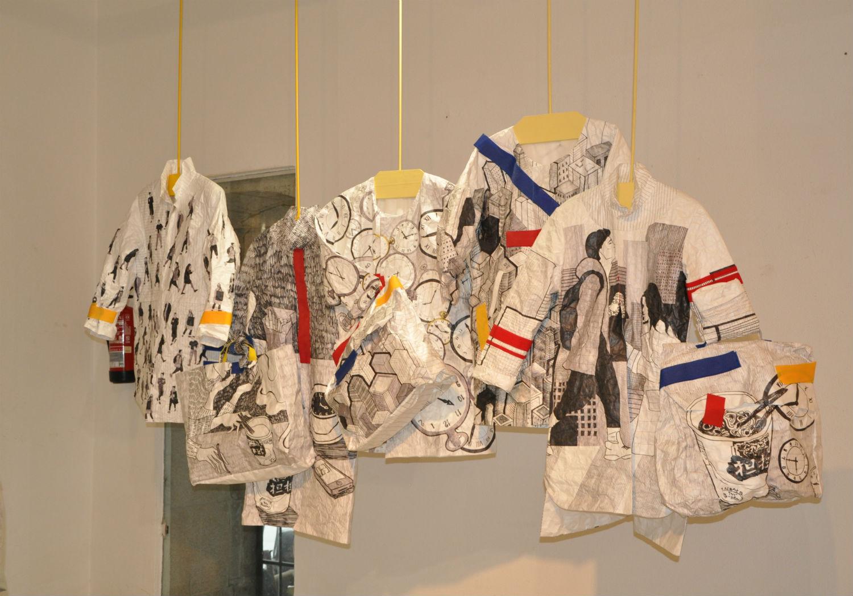 «Tecidos e vestidos no laboratoriográfico»: la moda y el dibujo se hacenmás que amigos